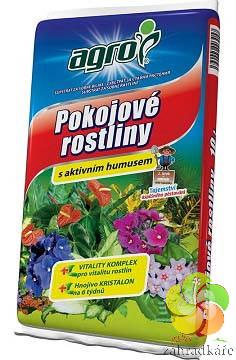 Substrát AGRO pro pokojové rostliny s aktivním humusem 20 l