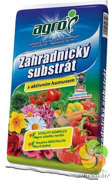Substrát AGRO zahradnický s aktivním humusem 5 l