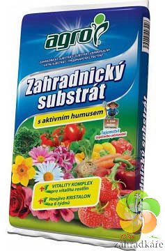 Substrát AGRO zahradnický s aktivním humusem 10 l