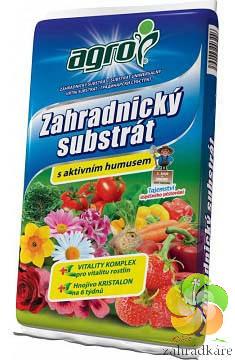 Substrát AGRO zahradnický s aktivním humusem 20 l