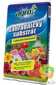 Substrát AGRO zahradnický s aktivním humusem 50 l