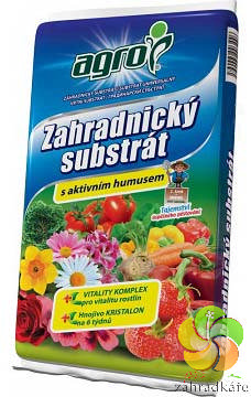 Substrát AGRO zahradnický s aktivním humusem 75 l