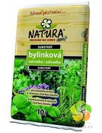 Substrát NATURA bylinková zahrádka 10 l