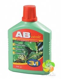 AGRO AB extra 3 v 1 pokojové rostliny 0,5 l