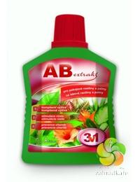 AB extrakt 3 v 1 na pelargonie a balkonové květiny 0,5 l hnojivo