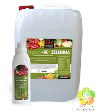 HYCOL K+ zelenina 0,5 l hnojivo