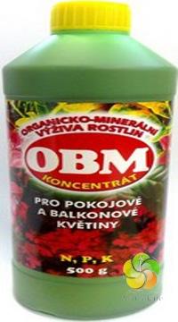 OBM pro pokojové a balkonové rostliny 500 g hnojivo