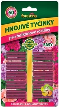 Tyčinky hnojivo na balkonové rostliny 30 ks/bal