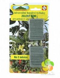 Tyčinky univerzální hnojivo Zelený dům 50 ks