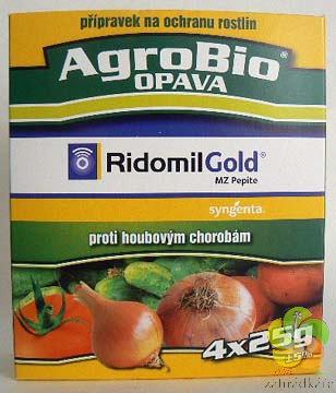 Ridomil Gold MZ Pepite 4 x25 g fungicid