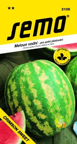 Meloun vodní CRIMSON SWEET (2105)