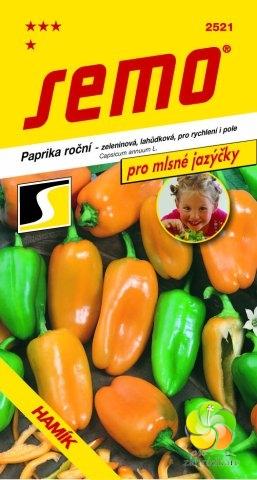 Fotografie Paprika HAMÍK - mlsné jazýčky (2521)