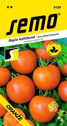 Rajče keříčkové ORANŽE (3120)