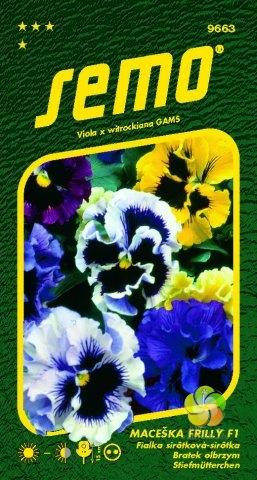 Maceška zahradní velkokvětá - FRILLY F1 (9663)