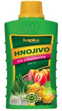 Kapalné hnojivo na cibuloviny 0,5 l Forestina KAPKA