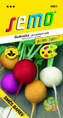 Ředkvička - směs barev (3461)