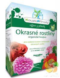 Kouzlo přírody Okrasné rostliny - organické hnojivo - 1 kg