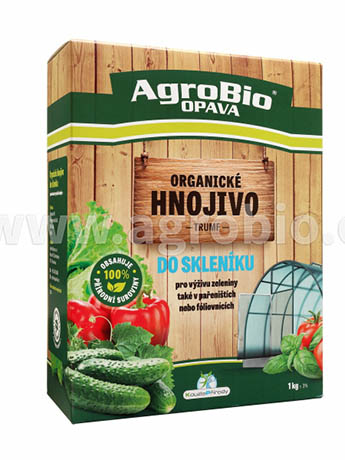 Kouzlo přírody Organické hnojivo do skleníku - 750 g