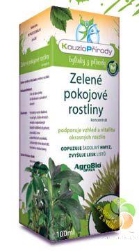 Kouzlo přírody Zelené pokojové rostliny koncentrát - 100 ml