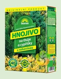 Biomin na thuje (thůje) a cypřišky 1 kg hnojivo