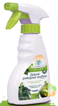 Kouzlo přírody Zelené pokojové rostliny rozprašovač - 250 ml/R