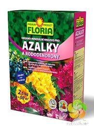 FLORIA organo-minerální hnojivo pro azalky a rododendrony 2,5 kg