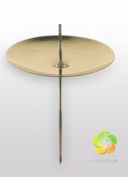 Bodec na svíčky do adventních věnců průměr 5cm - zlatá