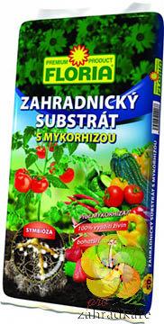 Floria zahradnický substrát a mykorhizou 50l