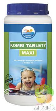 Kombi tablety MAXI 1 kg - bazénová chemie