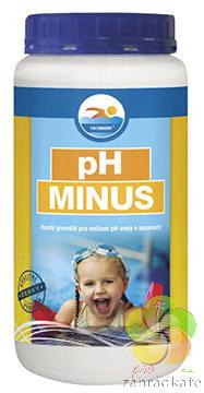 Ph mínus - bazénová chemie 1,5kg