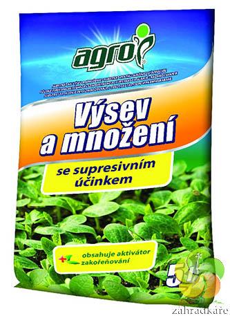 Agro substrát pro výsev a množení