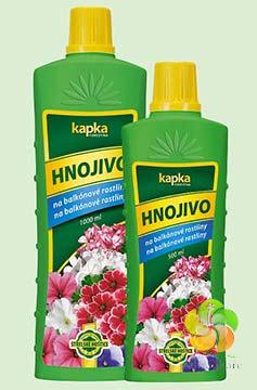 Kapalné hnojivo pro pokojové balkonové rostliny 0,5 l Forestina KAPKA