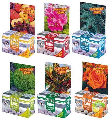 SILVA TABS hnojivo pro pokojové rostliny 250 g