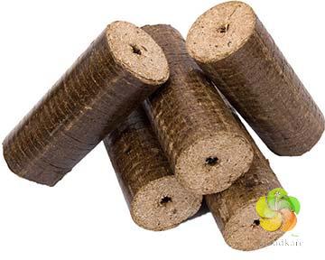 Dřevěné ekobrikety 5 ks (10 kg)