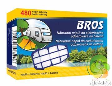 BROS - náhradní náplň do elektrického odpařovače na baterie proti komárům