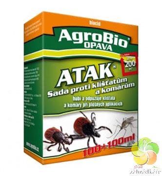 ATAK - Sada proti klíšťatům a komárům 100 + 100 ml