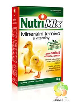 Nutri Mix pro drůbež - výkrm a odchov - 1 kg