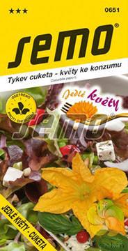 Tykev cuketa Jedlé květy (0651)