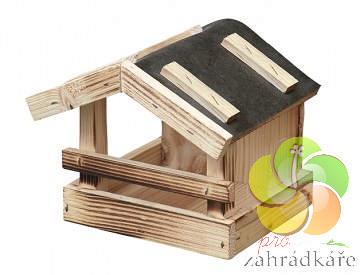 Krmítko dřevěné pro ptáky č. 4