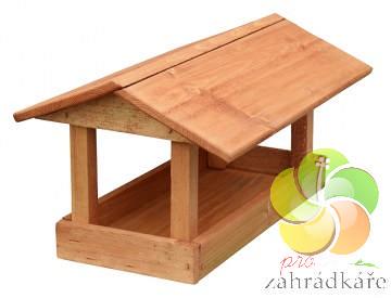 Krmítko dřevěné pro ptáky č.13