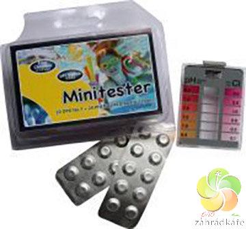 Bazénový mini tester Cl/pH