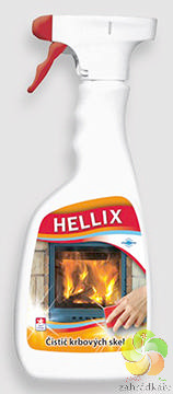Čistič krbových skel Hellix 500 ml