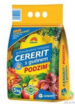 Cererit s guánem - PODZIM - 5 kg hnojivo