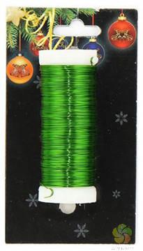 Drátek vázací 30m zelený