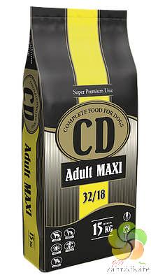 CD ADULT MAXI - KOMPLETNÍ KRMIVO PRO AKTIVNÍ PSY VELKÝCH PLEMEN 15kg 15 kg