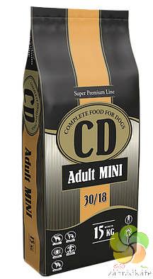 CD ADULT MINI - KOMPLETNÍ KRMIVO PRO DOSPĚLÉ PSY MALÝCH PLEMEN 15 kg