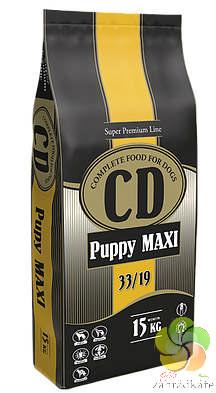 CD PUPPY MAXI - KOMPLETNÍ KRMIVO PRO ŠTĚŇATA VELKÝCH A STŘEDNÍCH PLEMEN 15 kg