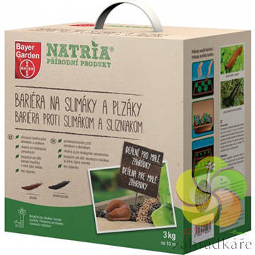 NATRIA Bariéra na slimáky a plzáky 3 kg