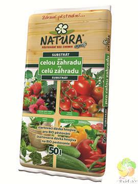 NATURA Substrát pro celou zahradu 50 l