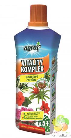 AGRO Vitality komplex Pokojové rostliny 0,5 l hnojivo